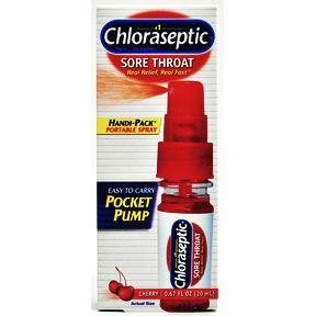 Chloraseptic Sore Throat Spray Cherry Flavor Travel