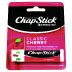 Chapstick Lip Balm Cherry SPF 4 P02-0128303-9000 - 0.15 oz travel size lip balm in dispensing tube. Skin protectant with sunscreen SPF 4.