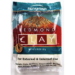 Redmond CLAY P03-1077101-1100-0.78 oz. packet of clay. For External and Internal use.