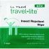 LA Fresh Travel Lite Insect Repellent Wipe P04-0116802-8100 - 1 towelette in individually sealed package