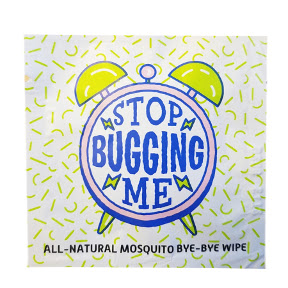 LA Fresh® Stop Bugging Me - Insect Repellent Wipe C05-0216808-8100
