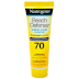 Neutrogena® Beach Defense® Water + Sun Protection SPF 70 P04-0122002-8100-1 fl oz. tube of broad spectrum SPF 70 sunscreen lotion.