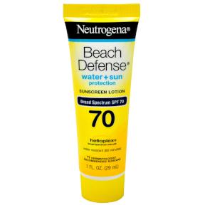 Neutrogena® Beach Defense® Water + Sun Protection SPF 70