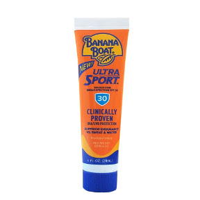 Banana Boat Sport Sunblock SPF30 (tube) P04-0127701-8100 - 1 fl oz travel size sunblock in plastic tube. Ultra sweatproof. Waterproof. Non-greasy.