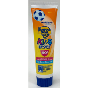 Banana Boat® Kids Sport SPF50+ Sunscreen Lotion 1 oz., P04-0127706-8100