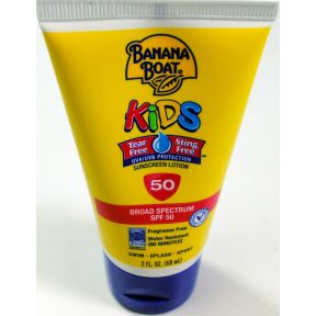 Banana Boat Kids Tear Free Sunscreen Lotion Spf50 Travel