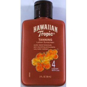 Hawaiian Tropic 174 Tanning Lotion Sunscreen Spf4 Travel