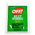 OFF!® DEEP WOODS® insect repellent towelettes - unscented P04-0131902-8000-0.123 oz packet. Unscented Insect Repellent Towelettes.