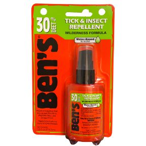Bens 30 Deet Tick & Insect Repellent Spray P04-0255802-8200 - 1.25 fl oz travel size insect repellent in plastic pump bottle. 30% deet. Water based formula. Contains no alcohol.