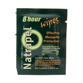Natrapel® 8 Hour Insect Repellent Wipes P04-0326102-8000