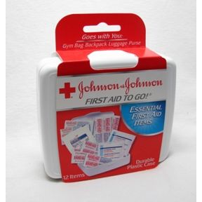 Johnson and Johnson First Aid to Go® Kit P05-0520403-8200