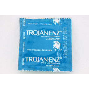 Trojan-enz® lubricated condom P07-0124102-1000