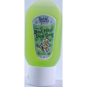 Bobbi Panter Bad Hair Day Dog - Shampoo & Conditioner In One QC3-0140507-8200-2 fl oz bottle of natural shampoo and conditioner in one for dogs.