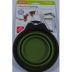 Dexas Collapsible Travel Cup - Small Green QS2-0641801-9100-8 oz capacity collapsible pet travel cup. ( Includes a quick release clip)