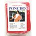 Generic Emergency Poncho - Red S01-0459903-9000-Travel size emergency poncho. One size fits all.