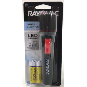 Rayovac® Brite Essentials LED Flashlight, S01-0550203-9200