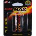 Kodak MAX Alkaline Battery AA (2 pack) S01-0631002-9000