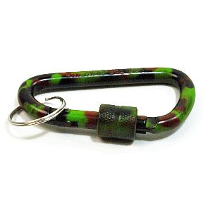 Aluminum Locking Carabiner (assorted colors) S01-0959900-9000-A single Aluminum Locking Carabiner.
