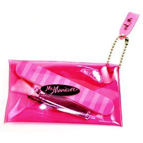 Ms Manicure Mini Nail File And Clipper Travel Size