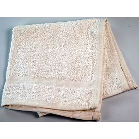 "Washcloth, 12"" x 12"" White Cotton S02-0609911-9100"
