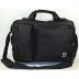 Computer Bag - Black S04-0271001-9301-Black Canvas Laptop bag. Has additional straps for use as Messenger Bag or Backpack.