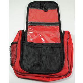 bag multi pocket hanging toiletry bag red 105 x 10 x 4