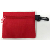 "Bag, with clip, 4"" x 5"" - Red, S04-0337731-9000"