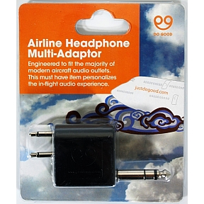 Do Good Airline Headphone Multi Adapter T03-0571002-9000