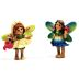 Polystone Mini Fairytale Fairy 1, 2 pc set U03-0101232-0192-2 piece set of Fairies. Garden Decor.