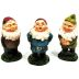 Polystone Mini Terrarium Gnomes (3 pc set) U03-0101232-0293-3 piece set. Mini Gnomes in various poses.