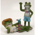 Polyresin Mini World Seaside - Beach Frogs (2 pc set), U03-0201232-0042