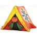 Polystone Mini Lakeside Tent U03-0301232-0690- single mini polystone tent. Garden décor.