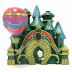 Polyresin Mini World OZ Emerald City, U03-0301232-1490