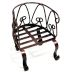 Iron Mini Garden Chair U03-0404232-0160-a single mini garden chair. Garden décor.