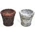 Polystone Mini Garden Planters (2 pc set) U03-0501232-0092-set of 2 mini planters. Garden décor.