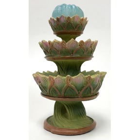 Polystone Mini Classic Fairy Statuary Fountain, U03-0601232-0040