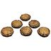 Cement Mini Stepping Stone (6 pc set) U03-0609232-0026-6 mini stepping stones. Garden décor.