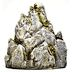 Polystone Mini Garden Mountain U03-0801232-0070-a single mini mountain. Garden décor.