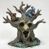 Polyresin Mini World OZ  Haunted Tree, U03-0801232-0120