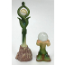 Polystone Mini Classic Fairy Star Gazing Balls (2 pc set). U03-1201232-0442