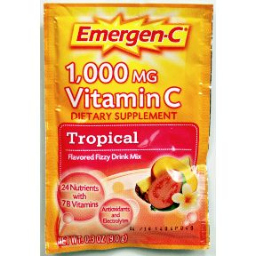 Emergen-C® Dietary Supplement - Tropical V01-0270403-1100-Dietary supplement in 0.3 oz packet.