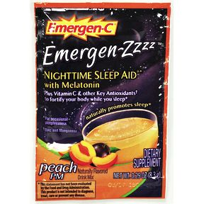 Emergen-C® Emergen-Zzzzz Nighttime Sleep Aid - Peach PM V01-0270431-1100