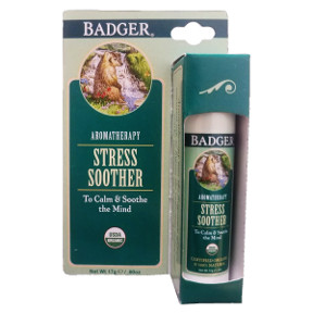 Badger® Stress Soother - Stick V03-0270702-9100-0.6 oz. aromatherapy stick. To calm & soothe the mind.