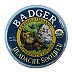Badger Headache Soother - Peppermint & Lavender V03-0270703-9200 - 1 oz skin balm in travel size tin. USDA Organic.