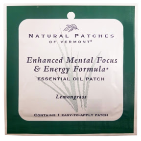 Naturopatch of Vermont Aromatherapy Body Patch - Aid for Focus V03-0365103-1400